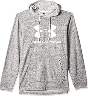 Under Armour SPORTSTYLE TERRY LOGO HOODIE7 Hoodies for Men, Grey - L