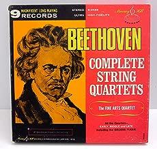 Beethoven: Complete String Quartets including The Grosse Fugue /The Fine Arts Quartet
