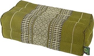 "Meditation Cushion & Yoga Prop,* Kapok-Dreams 制造的 Kapok * Kapok-Dreams。 竹子绿色 14""x6""x4"