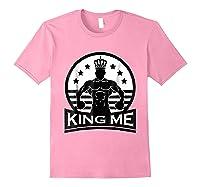 Grand Arte: King Me Boxing T-shirt Light Pink