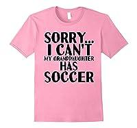 Grandpa Grandma | My Granddaughter Has Soccer T-shirt Light Pink