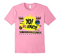 Mtv Yo! Raps Shirts Light Pink