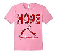Wegener\\\'s Granulomatosis Awareness T-shirt Light Pink