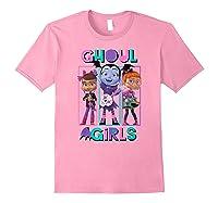 Vampirina Ghoul Girls Trio Shirts Light Pink