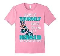 Cute Mermaid Gifts N Girls Mermaids Lover Gift Daughter Shirts Light Pink