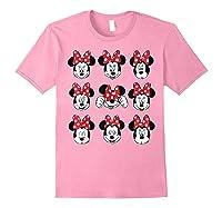 Disney Minnie Rock The Dots Oh My Minnie T-shirt Light Pink