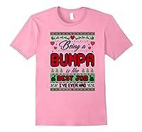 Being Bumpa Best Job I Ever Had Christmas Gift Premium T-shirt Light Pink
