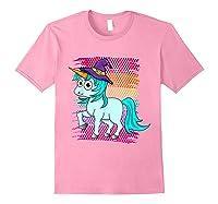 Halloween Unicorn Pride Colors Shirts Light Pink