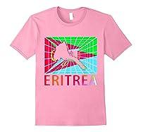 Eritrea Map Eritrean Shirts Light Pink