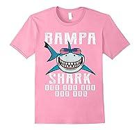Bampa Shark Doo Doo Shirt - Matching Family Shark Shirts Light Pink