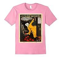 La Victoria Arduino Caffe Cafe Espresso Poster Shirts Light Pink