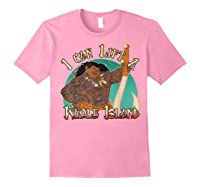 Moana Maui I Can Lift A Whole Island Graphic Shirts Light Pink