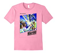 Star Wars The Empire Strikes Back The War Isn\\\'t Over Poster T-shirt Light Pink