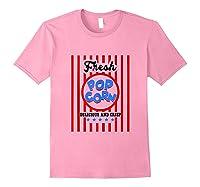 Fresh Popcorn T-shirt Popcorn Costume For Halloween Tank Top Light Pink