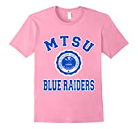 Middle Tennessee State 1911 University Apparel T Shirt Light Pink