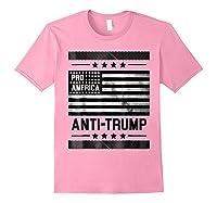 Pro America Anti Trump 4th Of July Impeach Trump T Shirt Light Pink