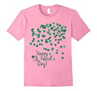 Happy St Saint Patrick S Day T Shirt T Shirt Light Pink