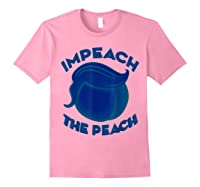 Impeach Halloween T Shirt For Girls And Adults Light Pink