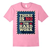 Happy Labor Day Hard Worker Cool Employee Gift Back Print T-shirt Light Pink