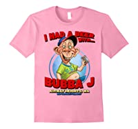 Bubba J Airway Heights Wa T Shirt Light Pink