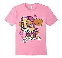 Paw Patrol Skye Jumping T-shirt Light Pink