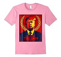 Comrade Trump Protest Resist Impeach Russia Propaganda Shirt Light Pink