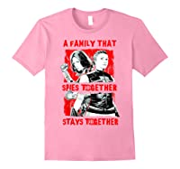 Black Widow Family That Spies Together Stays Together Shirts Light Pink