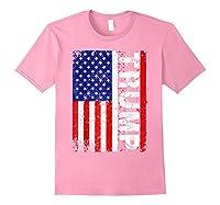 Donald Trump 2020 Vintage Usa Flag Shirts Light Pink