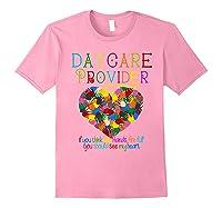 Daycare Provider Tshirt Appreciation Gift Childcare Tea Light Pink