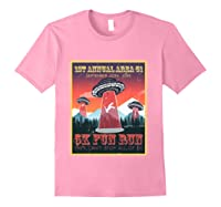 Alien Ufo 5k Fun Run Storm Area 51 Shirts Light Pink
