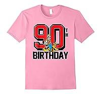 Disney Birthday Group 90th T Shirt Light Pink