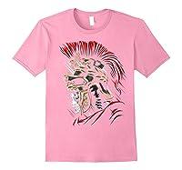 Roman Skull Praetorian Warrior Shirts Light Pink