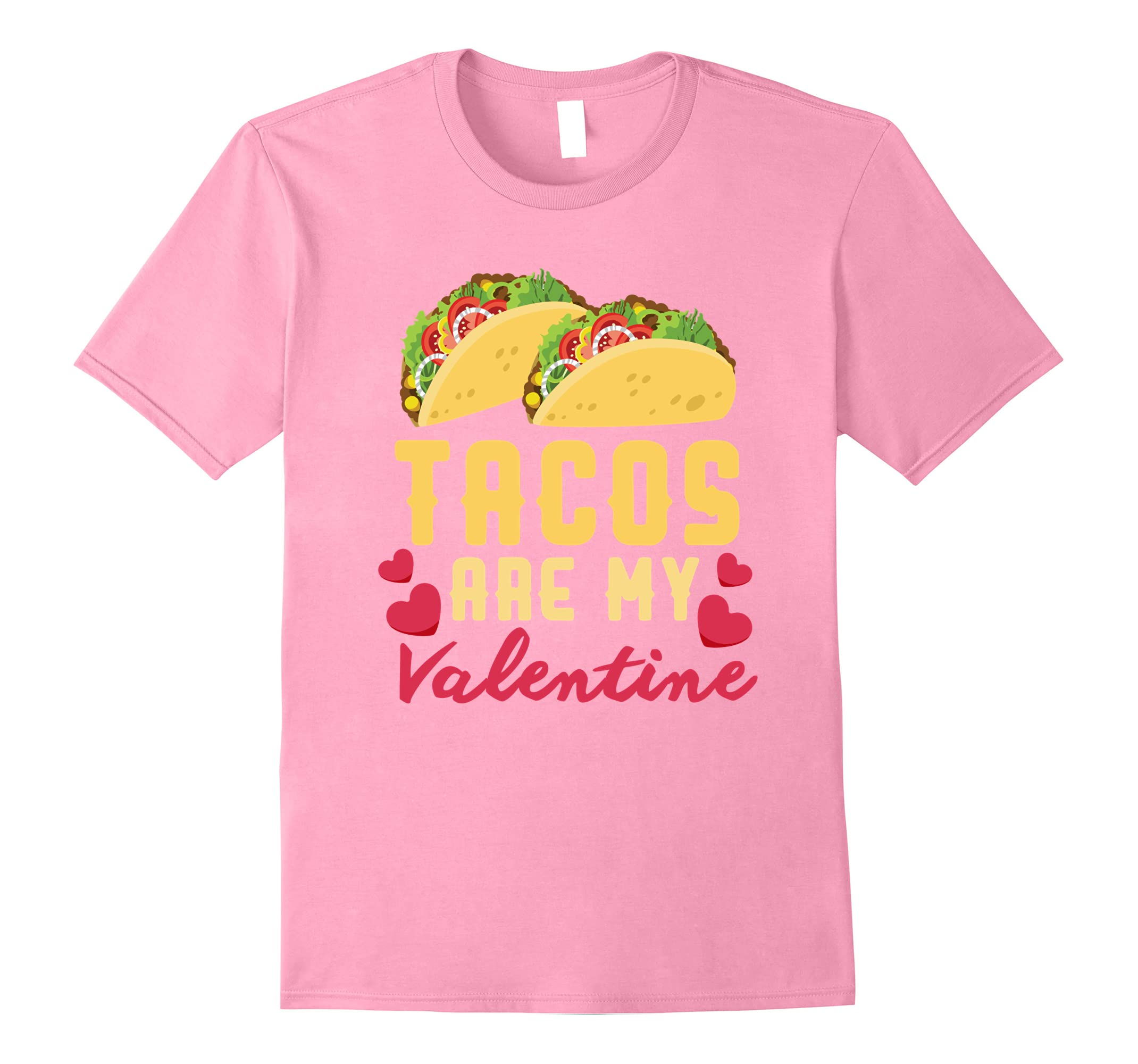 Funny Valentines Day Shirt Tacos Lovers Love Heart Gift Idea Ah My
