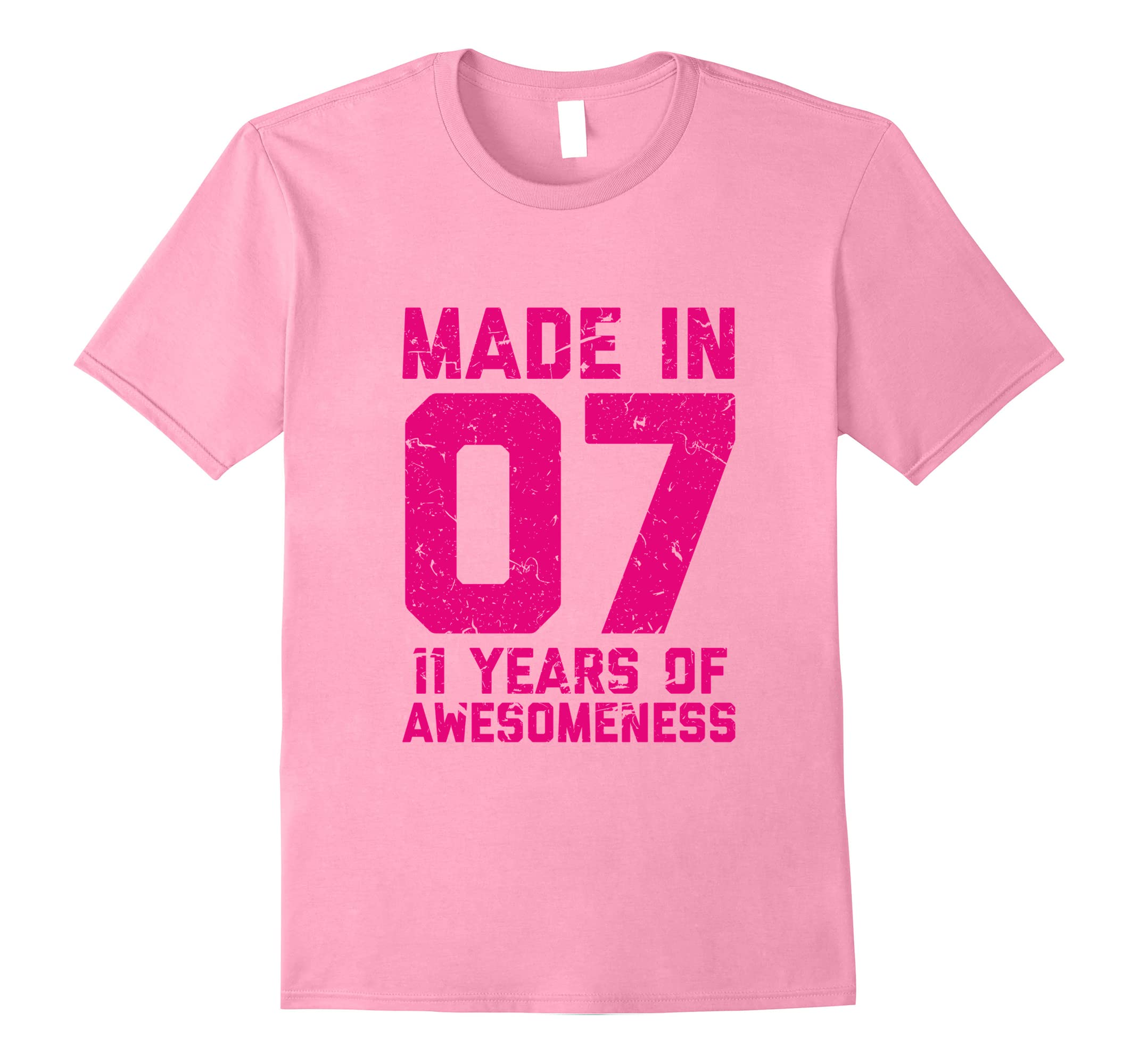 11th Birthday Shirt Gift Girls Age 11 Eleven Year Old Girl T Ah My