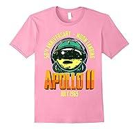 Apollo 11 50th Anniversary Shirts Light Pink