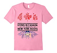 Living In Canada With New York Roots Ny Shirts Light Pink