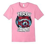 Raccoon Trash Bandit Funny Raccoon Trash Panda T Shirts Light Pink