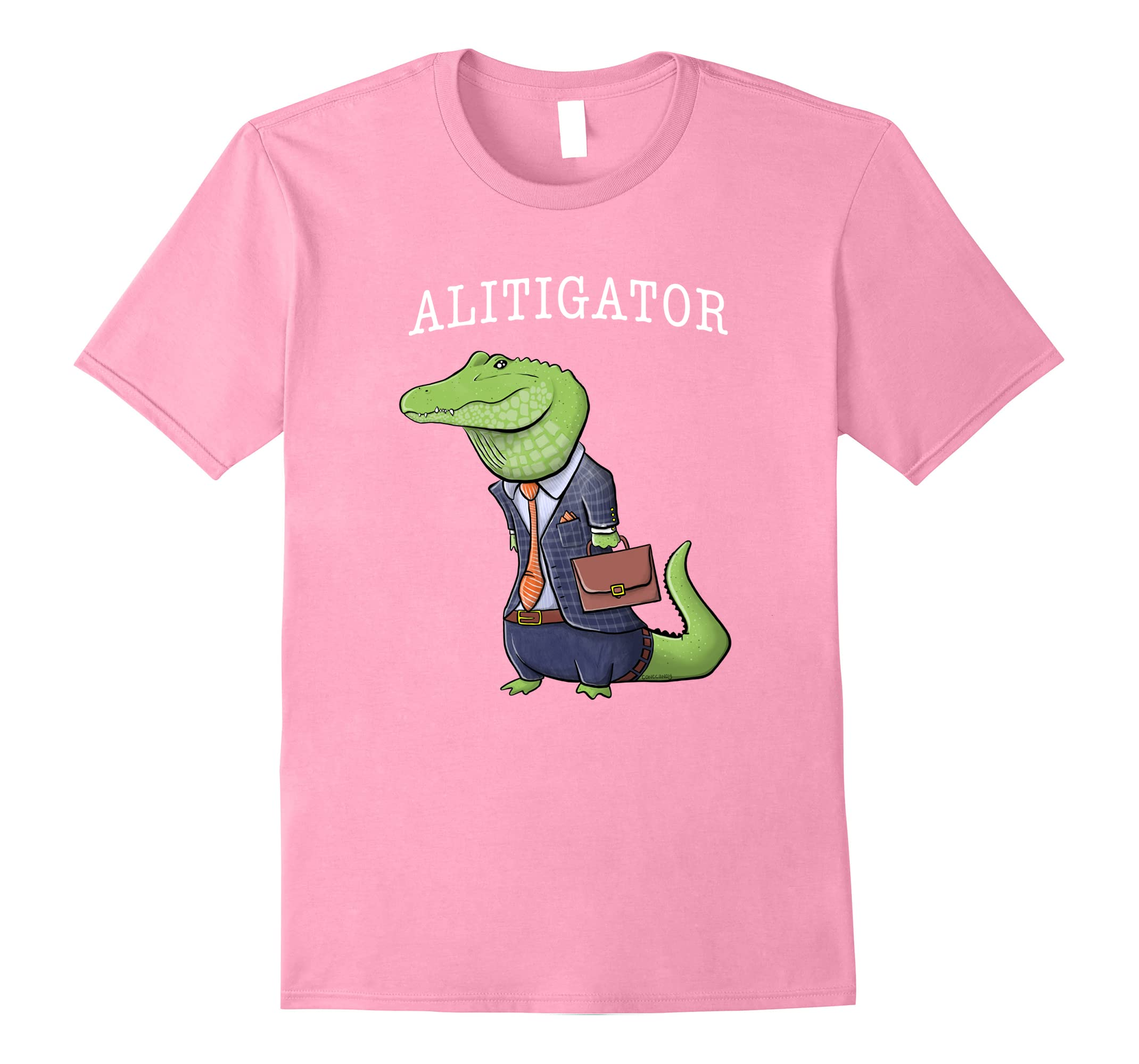 Alitigator Alligator Lawyer Attorney shirt-Teesml