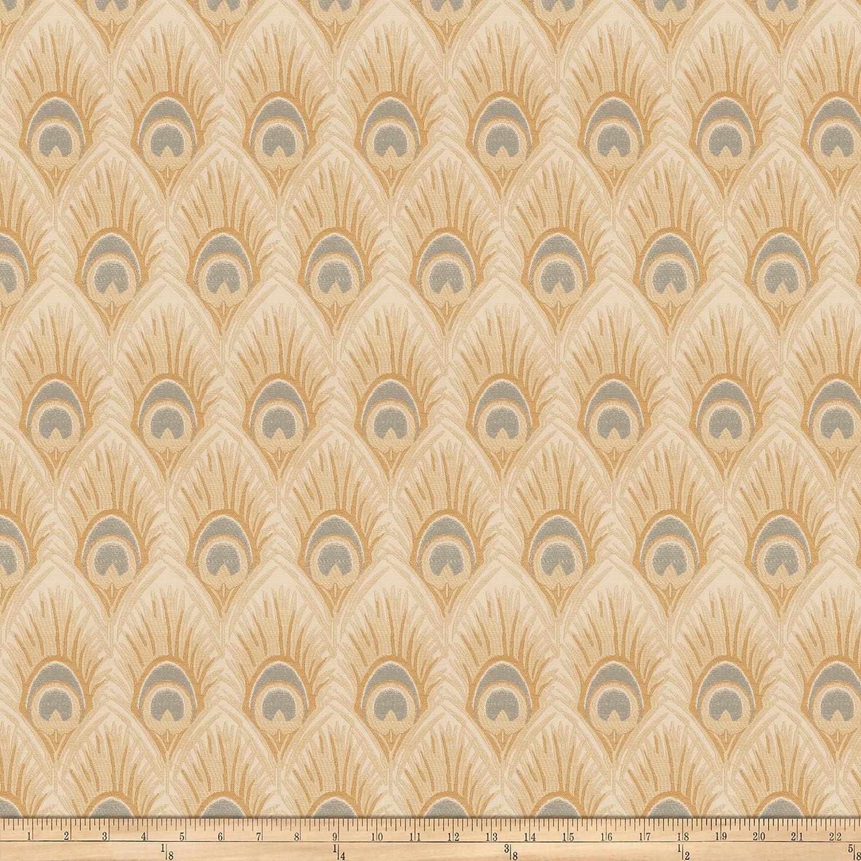 Vern 新作続 Yip 03374 Jacquard Sesame Fabric The by Yard 受賞店