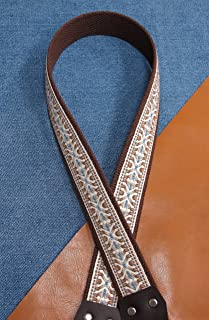 Trophy DEL RIO USA-made Cotton A & F style Mandolin Strap
