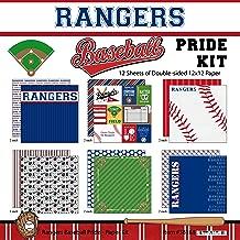 Scrapbook Customs Rangers Pride Baseball Scrapbook Kit