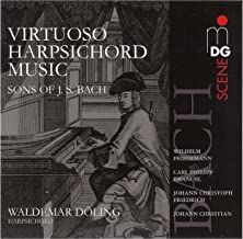 Virtuoso Harpsichord Music (Sons of J. S. Bach)
