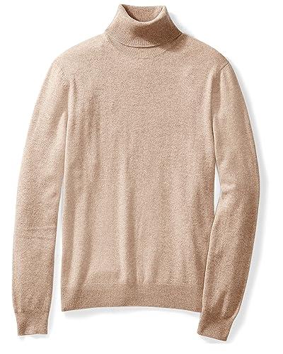 2496e7c84c8 Beige Turtleneck Sweater: Amazon.com