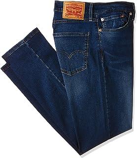 Levi's Men's 511 Slim Fit denim jeans in Black (Soft Black A11), Size: Size33