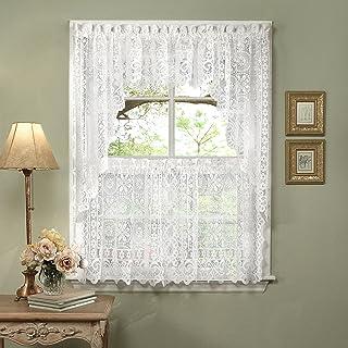 Amazon Com Lace Kitchen Curtains
