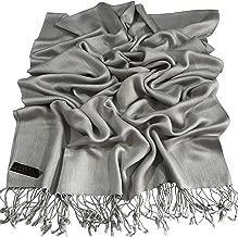 Solid Color Design Shawl Scarf Wrap Stole Throw Pashmina Pashminas CJ Apparel NEW