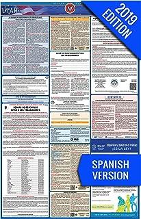 2019 Utah (Spanish) Labor Law Poster – State, Federal, OSHA Compliant – Single Laminated Poster