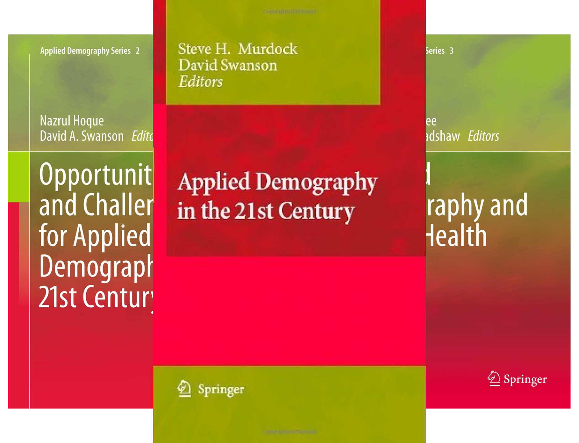 Applied Demography (11 Book Series)