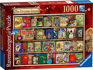 Ravensburger The Christmas Library, 1000pc Jigsaw Puzzle