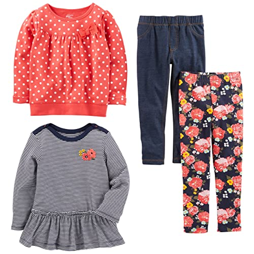 Efficient Baby Girls Trousers Bundle 6-9 Months Easy And Simple To Handle Girls' Clothing (0-24 Months)